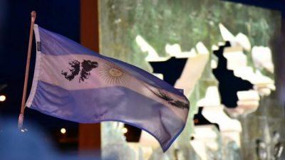 Malvinas: En Ushuaia y Río Grande hubo actos para repudiar los ejercicios militares británicos