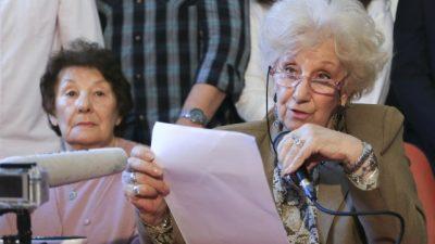 Carlotto repudió el informe oficial que afirma que hubo 6.346 desaparecidos