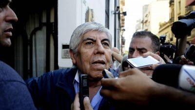 Para Moyano, Macri «no encuentra una solución» a los problemas de los argentinos