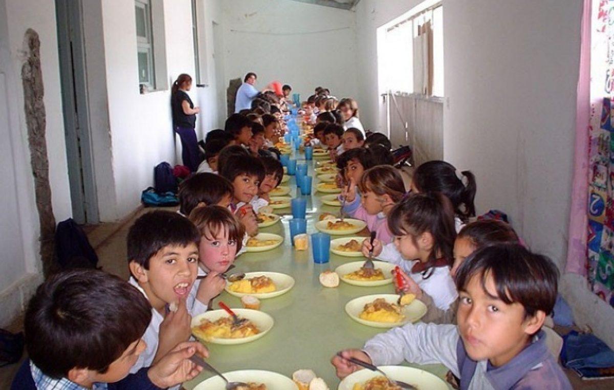 """Señalan que los comedores escolares en la Provincia de Buenos Aires generan """"procesos de malnutrición"""""""