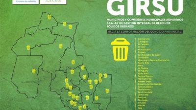 Se amplía la adhesión de comunas jujeñas a la ley GIRSU