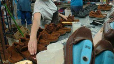 La industria del calzado cordobesaaumentó 20% los despidos
