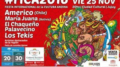 2da Fiesta Internacional de la Cultura Andina; FICA 2016, 25 de noviembre, Jujuy