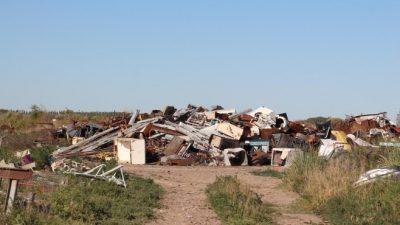 Basura en Valle Medio: insólita idea del ministro Sergio Bergman