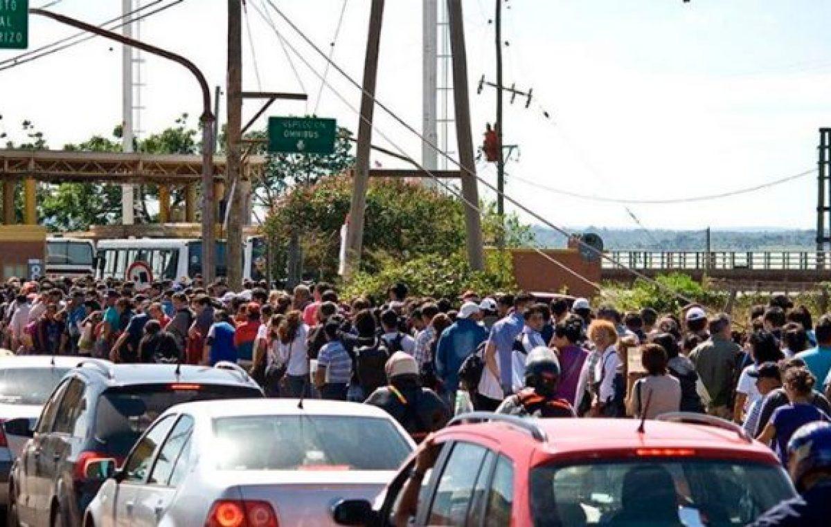 Fuga de divisas: en lo que va del año casi 18 millones de personas cruzaron las fronteras de Misiones