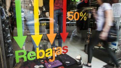 Otro mes con caída en las ventas minoristas