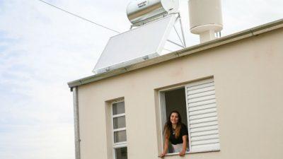 Habrá mil calefones solares en viviendas sociales de Santa Fe