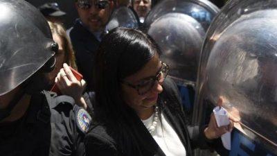 Malcorra le negó la participación a la canciller de Venezuela