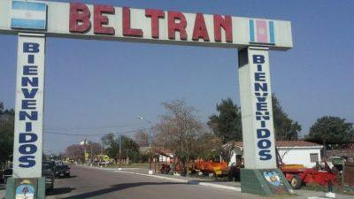 Los municipales de Beltrán cobrarán el bono de $ 7.000