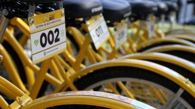 La Plata lanza un sistema de alquiler gratuito de bicicletas