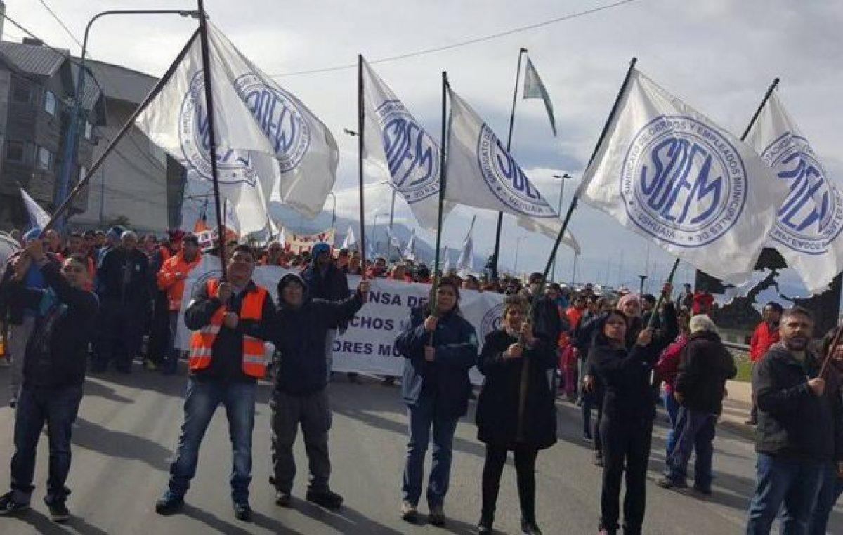 Ushuaia: El SOEM pretende unificar criterios con otros sindicatos para discutir el Convenio Colectivo Municipal