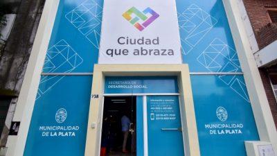 La Plata inauguró un nuevo parador para personas en situación de calle