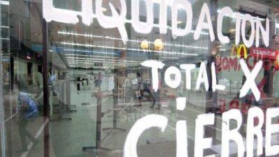 Comercios correntinos no resistieron los efectos de la inflación y el bajo consumo