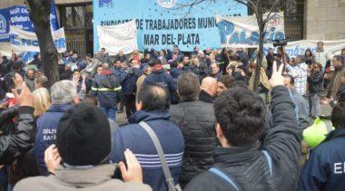 Municipales de Mar del Plata endurecen su postura: paran y movilizan este miércoles