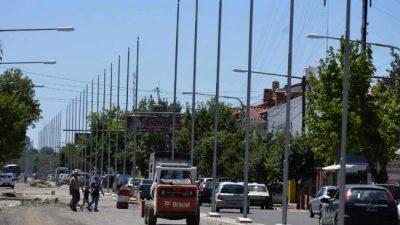 San Martín, la ciudad de los mástiles