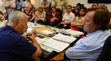 Las nuevas autoridades del Suoyem se reunieron con el Intendente de Paraná
