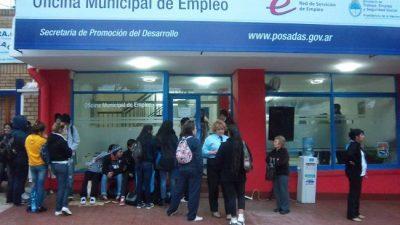 La Oficina Municipal de Empleo de Posadas gestionó 300 puestos de trabajo durante el 2016