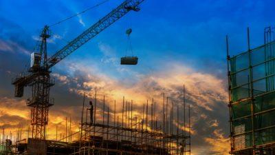 La construcción no caía tanto desde 2002