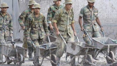 Intensas tareas para recuperar pueblos afectados por aluviones en Jujuy