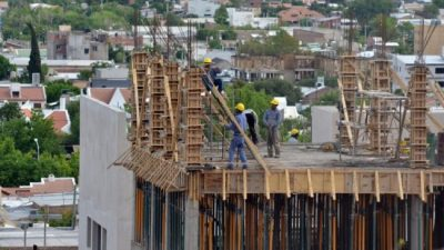 La construcción creció en la ciudad de Neuquén pese a la crisis