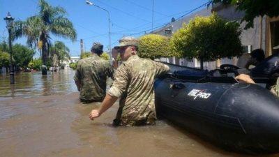 """Le llueven críticas a Macri por su """"desconocimiento"""" de las inundaciones en el norte bonaerense"""