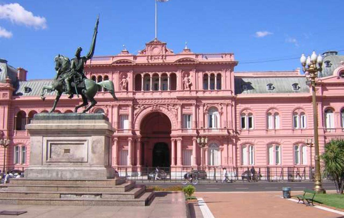 La casa rosada restableci la inmovilidad para tres for Casa argentina