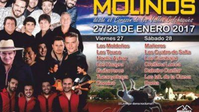 Festival del Poncho, Molinos, 27 y 28 de enero