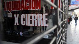 Recesión sin fin: cada vez hay más locales vacíos enBuenos Aires