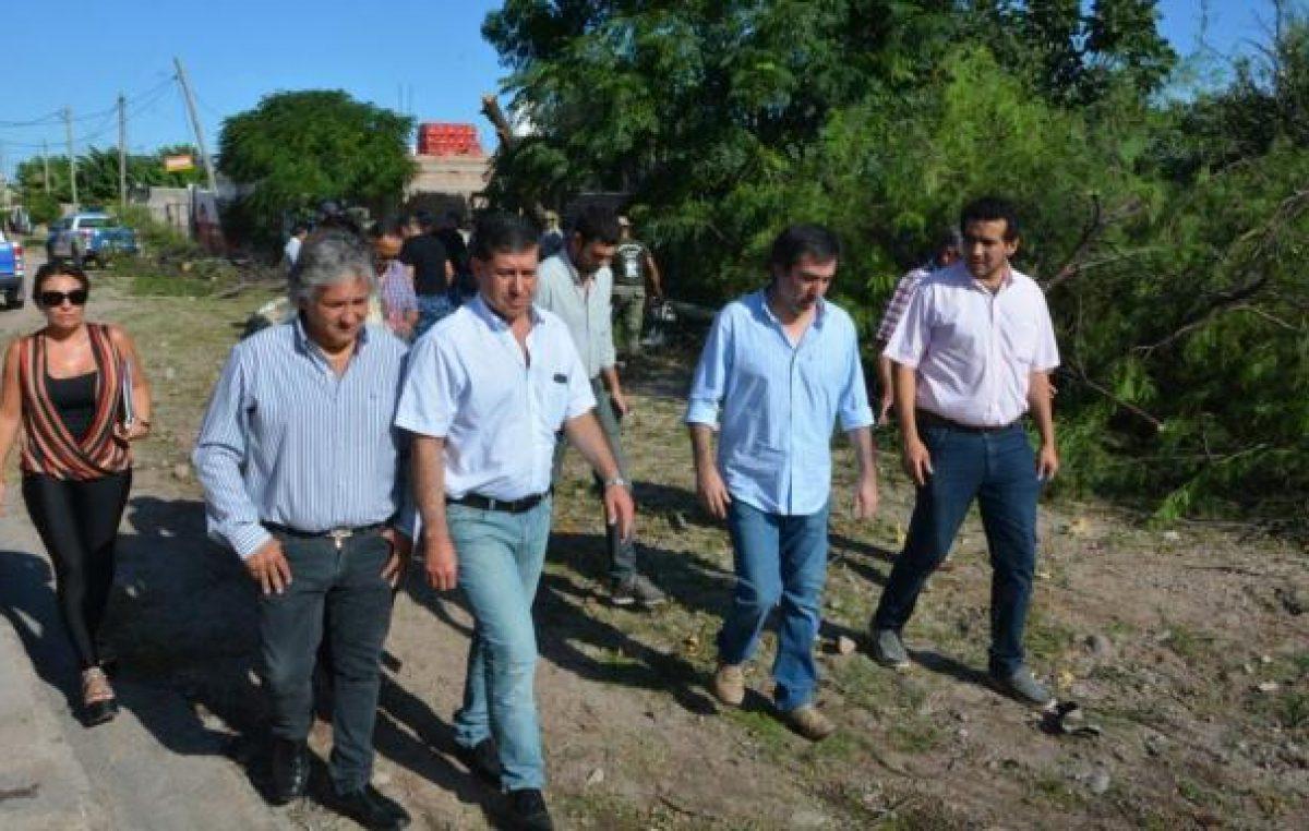 """Temporal en La Rioja: """"Nación no envió ni el 1% de los que necesitábamos"""""""