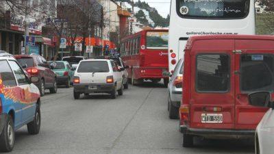 Bariloche duplicó su parque automotor en 10 años