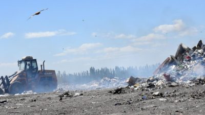 Cipolletti fue clave para afianzar el basurero regional de Quiroga