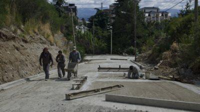 Las calles de Bariloche, una postal del abandono