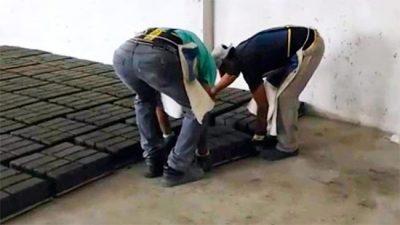 Chajarí empezó a fabricar adoquines en su Planta de Tratamiento de Residuos