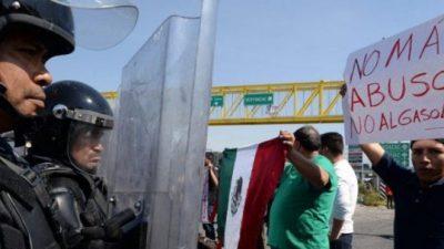 """Protestas en México contra el """"gasolinazo"""""""