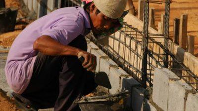 Más del 50% de los obreros de la construcción está desocupado en Gualeguaychú