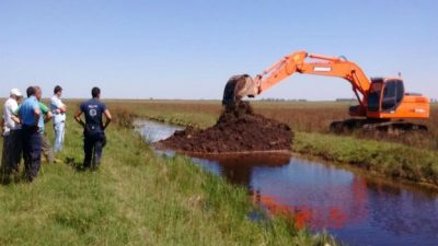 Detectaron en Córdoba 650 obras hídricas ilegales para sacar agua de los campos