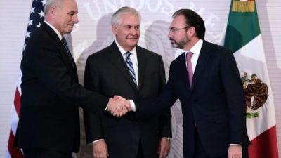 Un difícil inicio del diálogo entre EEUU y México