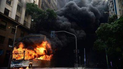 Huelga de la policía desata un infierno en ciudad brasileña