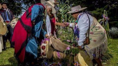 Se desenterró el Carnaval Andino