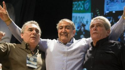 El Frente Renovador también le dio su apoyo a la marcha de la CGT