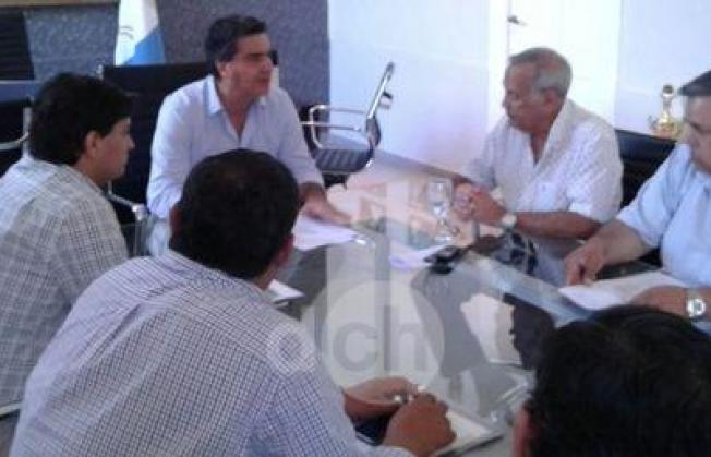 Resistencia: Coqui y Sampayo se juntaron, nada de pases a planta