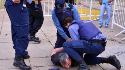 Protestas, represión y detenciones