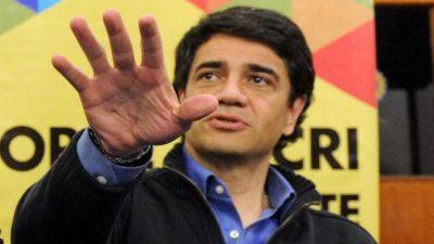 Figuretti en Vicente López: el intendente Jorge Macri hizo imprimir libros infantiles con su cara