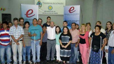 La Bandaincorporó a 20 personas con discapacidad en diferentes áreas de la Municipalidad