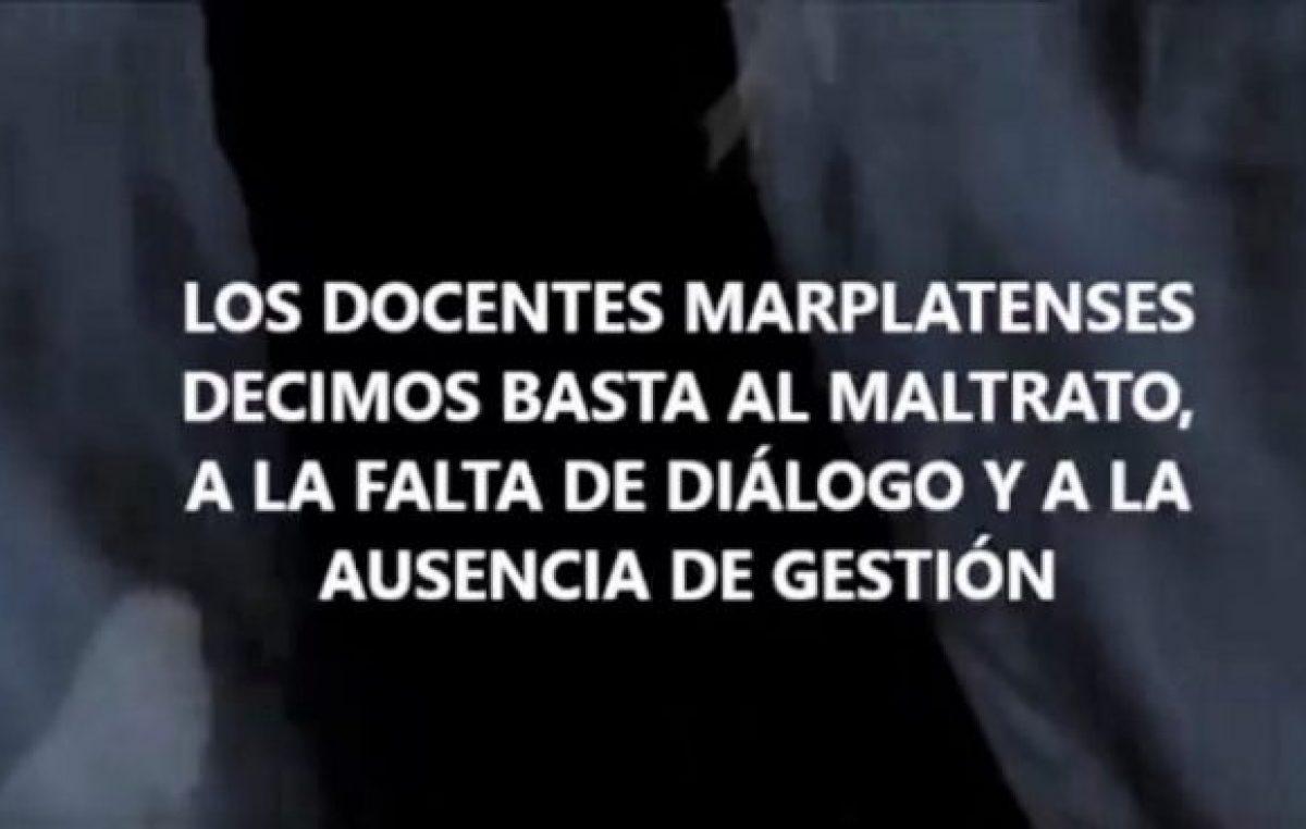 Docentes municipales de Mar del Plata se autoconvocan para el miércoles