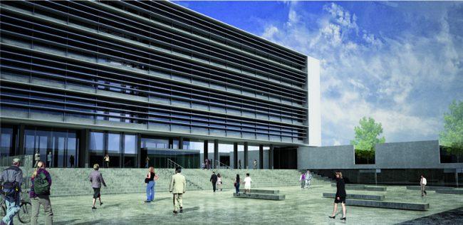 Rawson: Nuevo edificio municipal tendrá el objetivo de mejorar las condiciones laborales