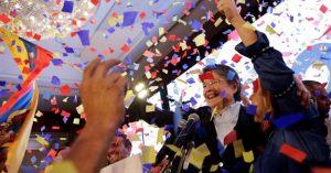 La tendencia adelanta que en Ecuador no se evitará el ballottage