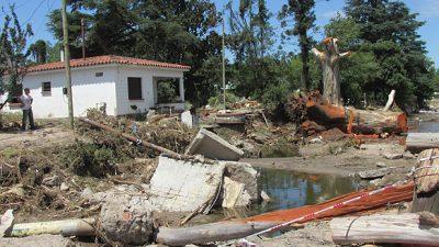 """A dos años del aluvión, Sierras Chicas quiere """"desinundarse"""""""