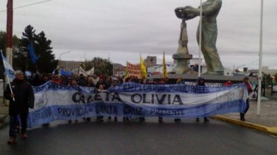 Municipales de Caleta Olivia levantaron medida de fuerza tras confirmación de pago