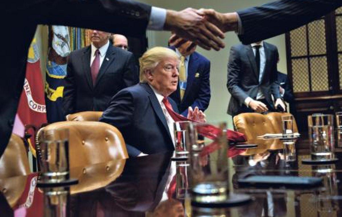 Trump se hace el duro con líderes del mundo